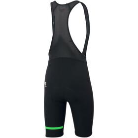 Sportful Giara Cuissard à bretelles Homme, black/green fluo